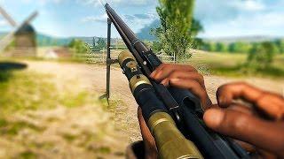 BATTLEFIELD 1 Broken Lebel Model 1886 Reload Animation / Bullet Count