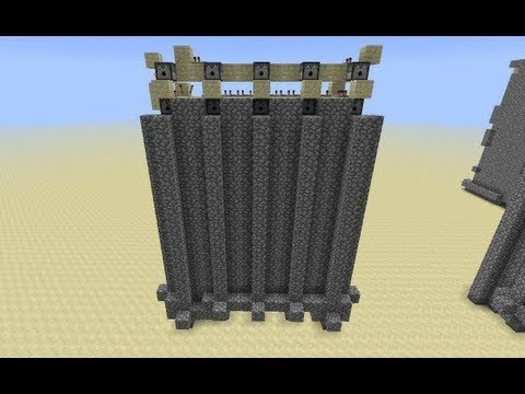 Cobblestone Wall on Demand -- Minecraft Tutorial