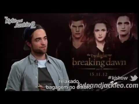 Robert Pattinson - Australia - Legendado BR - Kyle e Jackie O - Parte 1