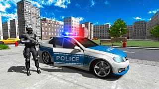 Police Car Driver City Free Android Game