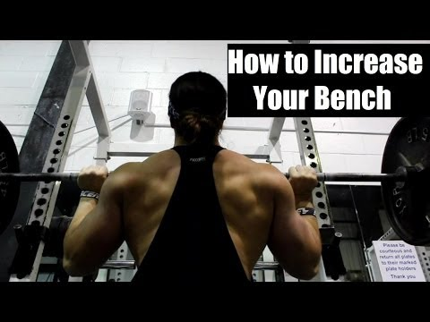 HOW to Increase Your Bench Press: 2 Great Assistance Exercises Image 1