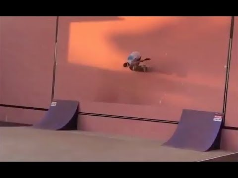 INSTABLAST! - LEGENDARY Wall Ride!! Cop Slams In Skatepark!! Nollie Inward Heel Nosegrind 180!!
