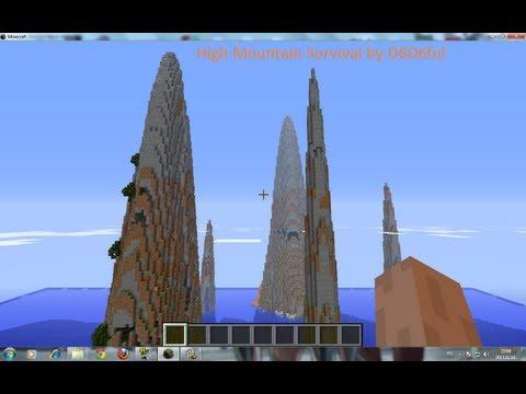 Magyar Minecraft High Mountains Survival 1.rész