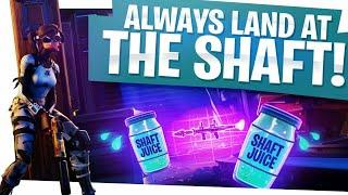 Always land at the Shaft! - Fortnite Battle Royale Win