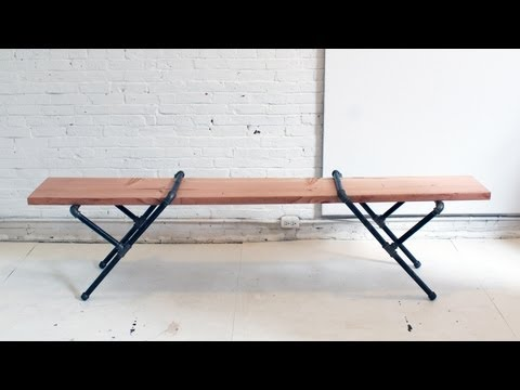 HomeMade Modern, EP 23 -- DIY Pipe Bench
