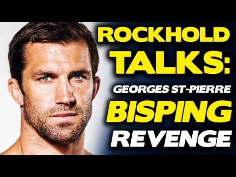 "Luke Rockhold is Coming to Shut ""Drunk Idiot"" Bisping Up Upon Return"