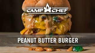 Peanut Butter Burger Recipe | Camp Chef