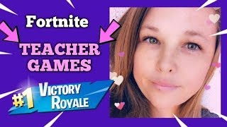 Teacher playing FORTNITE with SUBSCRIBERS *Live* **Road to 7K**