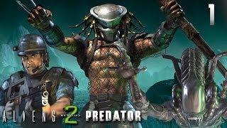 Видео прохождение игры aliens vs predator 2