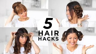 5 Easy Hair Hacks Every Girl Should Know | Luxy Hair
