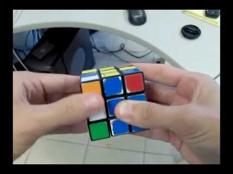 Solve The Rubiks Cube With 2 Moves!