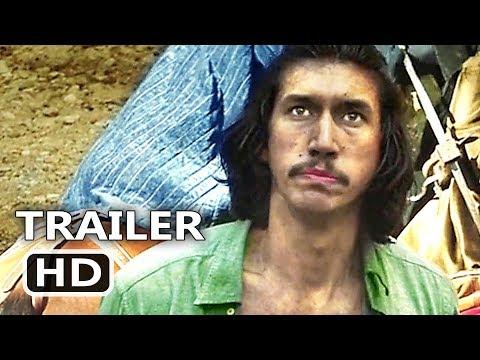 THE MAN WHO KILLED DON QUIXOTE Trailer (2018) Terry Gilliam, Adam Driver, Adventure Movie