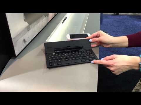 ZAGG POCKET KEYBOARD at CES 2015
