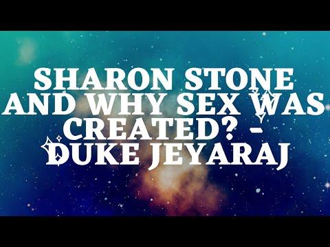 Sharon Stone &  Why Sex Was Created  - Duke Jeyaraj video