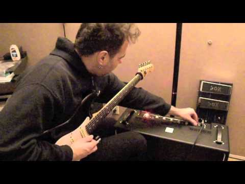 VOX Bruno Amp with Dave Martone... RAW
