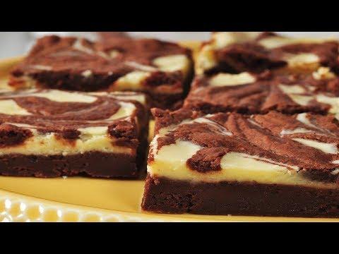 Cream Cheese Brownies Recipe Demonstration - Joyofbaking.com