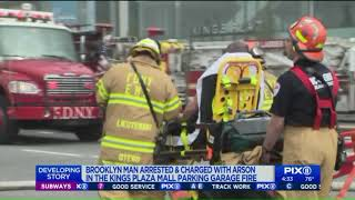 Man apprehended in connection to fire that injured 21 at Kings Plaza Mall