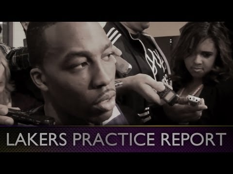 Lakers Practice: Dwight Howard Talks Kobe Bryant, His Lessons, The Future, and Moving On