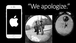 Apple apologises to customers & Vintage Spy Camera - TOGLIFE
