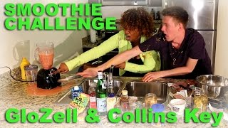 Smoothie Challenge - GloZell & Collins Key