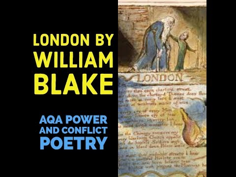 an analysis of the poem london by william blake As one of william blake's songs of experience, the poem, 'london' has a naturally supressing atmosphere with its underlying theme surrounding the corruption.