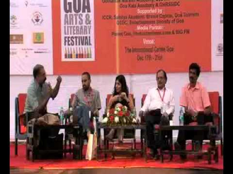 Goa Arts & Literary Festival 2011 - A Sustainable Boom? Indian Publishing in 21st Century