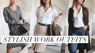 STYLISH WORK OUTFITS |  How to Dress for the Office!