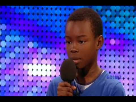 !!9-YR-OLD BOY  MALAKI PAUL  SINGS  BEYONCE S   LISTEN  ON  BRITAIN S GOT TALENT !!