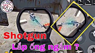 Tik Tok Free Fire | Phát Hiện Shotgun Lắp Được Ống Ngắm | Ngọc K9