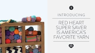 Red Heart Super Saver is America