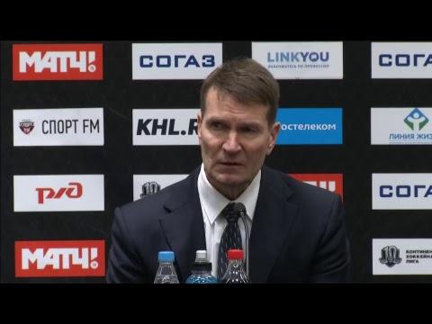 Сочи - Салават Юлаев : послематчевая пресс-конференция
