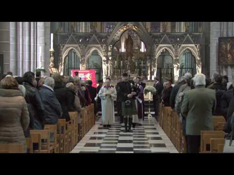 Begrafenis Antoon Verschoot