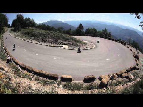 KnK Longboard Camp 2012 - Official video