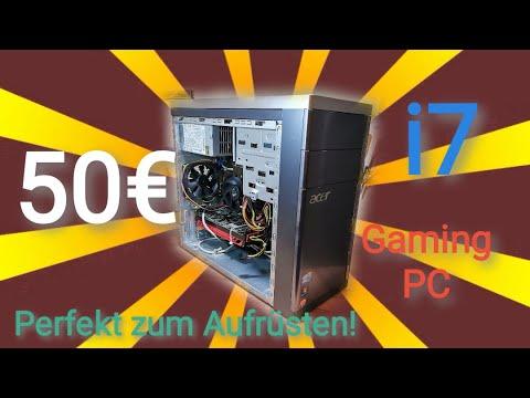 50€ GAMING PC KAUFEN / BAUEN | Spiele tauglich und großes Aufrüstpotential! - Der Einstig ins Gaming