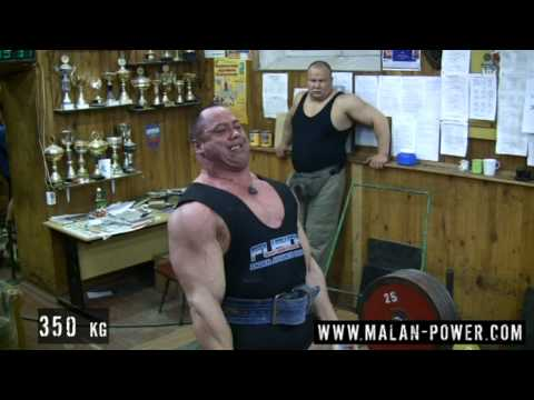 Malanichev deadlift training, 400 kg Image 1