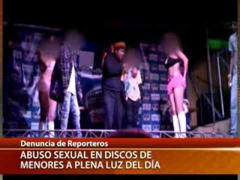 Reportaje de Tele13: Abuso sexual en las disco para menores de edad.
