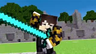 Minecraft Song compilation ♫Hacker 1 to 7♫ songs and animation