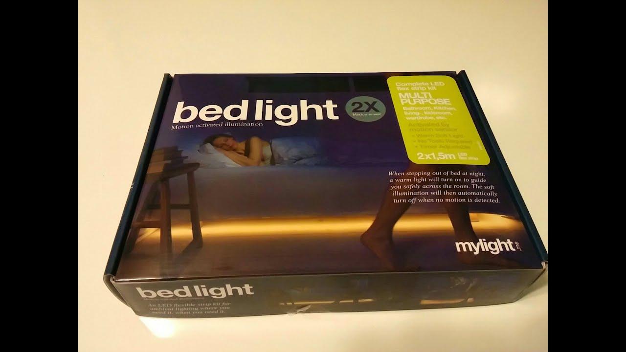 Bedlight Deluxe Motion Sensor Activated Under Bed Light