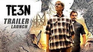 TE3N Trailer 2016 Launch | Amitabh Bachchan, Vidya Balan
