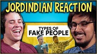 Types of Fake People Reaction Video | Jordindian