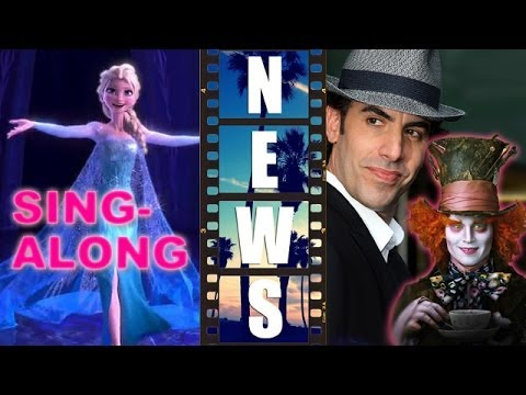 Frozen Sing-Along, Through The Looking Glass 2016, Tarantino Script Leak - Beyond The Trailer