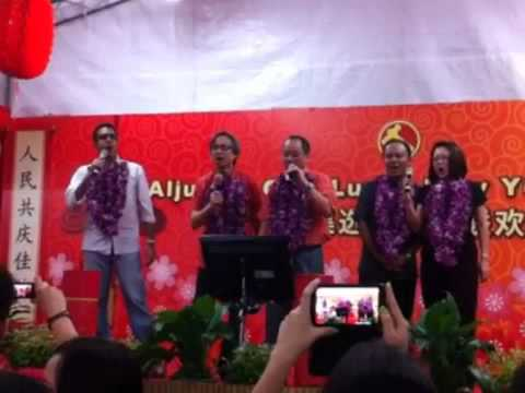 Workers' Party Aljunied GRC team singing a Hokkien song - 12/FEB/2012