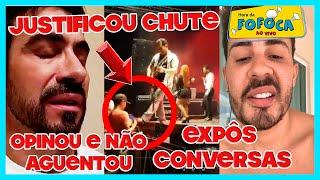 Pe Fábio opina sobre Saidinha de Nardoni e não aguenta críticas + Carlinhos Maia ameaça fofoqueiros