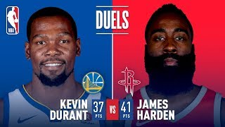 The Beard, KD Battle In Clutch City!