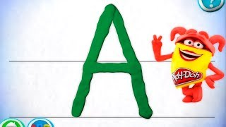 Learn Alphabet with Play doh Games online - Play-doh abc alphabet for kids ipad games with Gertit