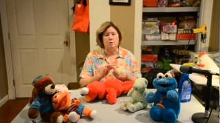 Cleaning Plush Animals