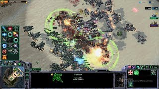 Starcraft 2 - Arcade - Direct Strike - 3vs3 - Terran - #5