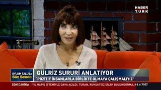 Söz Sende - 15 Ekim 2018 - (Tiyatro Sanatçısı Gülriz Sururi)