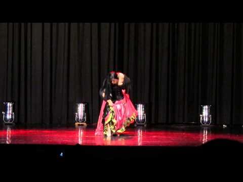 Solo de dança cigana, Sandra Cunha