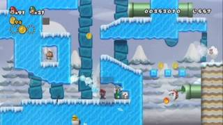New Super Mario bros Wii 2 The Next levels - Playthrough Part 2